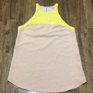 Cute like new tan/ yellow tank top